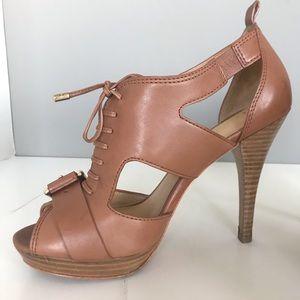 Coach Sofia Leather Heels